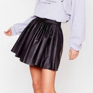 Brand new Leather skirt